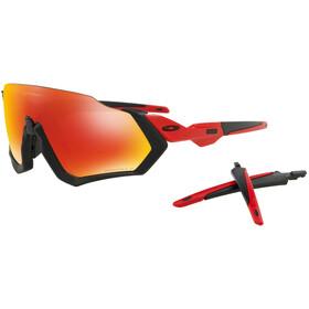 Oakley Flight Jacket Brillenglas, redline/prizm ruby polarized